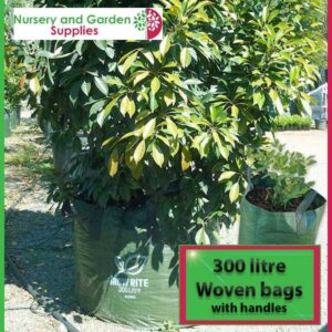 300 litre woven planter bag tree bag at Nursery and Garden Supplies NZ - for more info go to nurseryandgardensupplies.co.nz