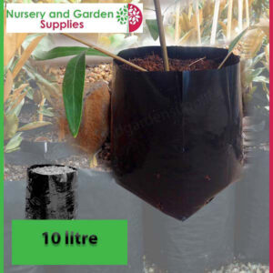 10 litre Standard Poly Planter Bags PB18 at Nursery and Garden Supplies NZ - for more info go to nurseryandgardensupplies.co.nz