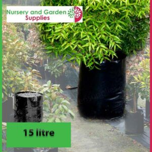15 litre Poly Planter Bags PB28 at Nursery and Garden Supplies NZ - for more info go to nurseryandgardensupplies.co.nz