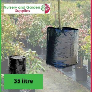 35 litre Poly Planter Bags PB60 at Nursery and Garden Supplies NZ - for more info go to nurseryandgardensupplies.co.nz