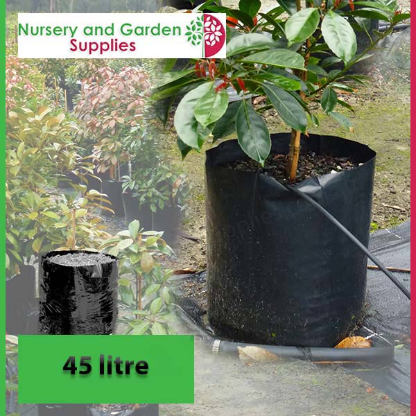 45 litre Poly Planter Bags PB95 at Nursery and Garden Supplies NZ - for more info go to nurseryandgardensupplies.co.nz