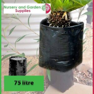 75 litre Poly Planter Bags at Nursery and Garden Supplies NZ - for more info go to nurseryandgardensupplies.co.nz