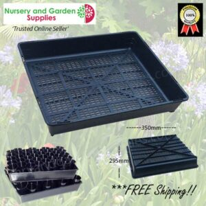 Seedling Tray Restricted Drainage - for more info go to nurseryandgardensupplies.co.nz