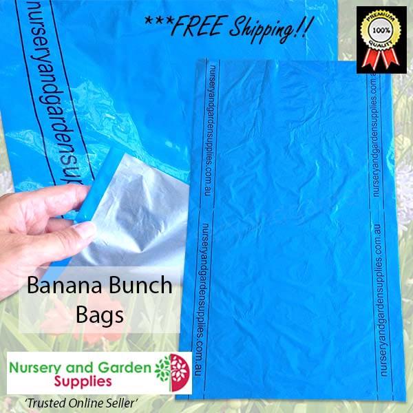Banana Fruit Bunch Cover Blue - Nursery and Garden Supplies NZ - For more information go to Nurseryandgardensupplies.co.nz