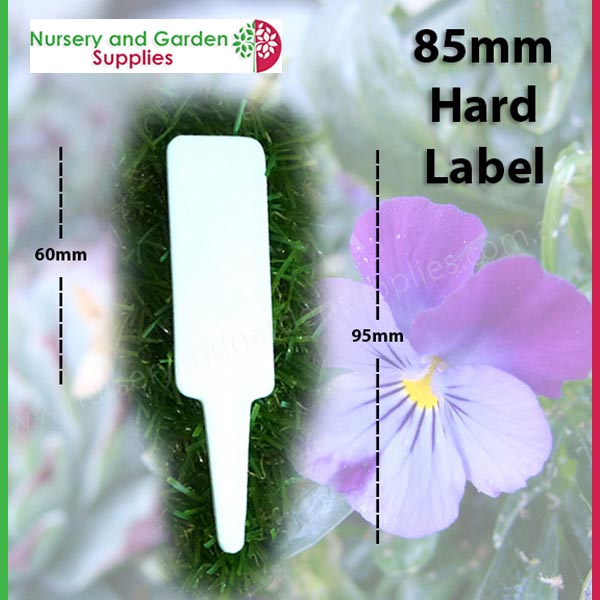 85mm Plant Tag Label - for more go to nurseryandgardensupplies.co.nz