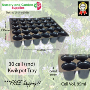 30 Cell Round Tray