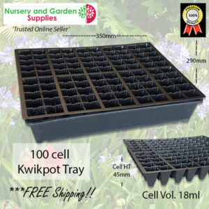 100 Cell Kwikpot Tray