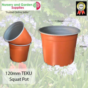 120mm Teku squat pot TC