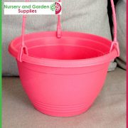 200mm-Saucerless-Hanging-basket-Pink-3