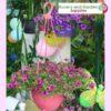 200mm Hanging Basket Pink saucerless at Nursery and Garden Supplies NZ - for more info go to nurseryandgardensupplies.co.nz