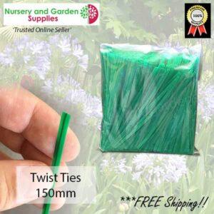 Twist Tie 150mm - for more go to nurseryandgardensupplies.co.nz