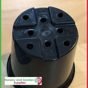 105mm Midi pot black - for more info go to nurseryandgardensupplies.co.nz