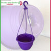 200mm Hanging Basket Purple saucerless at Nursery and Garden Supplies NZ - for more info go to nurseryandgardensupplies.co.nz