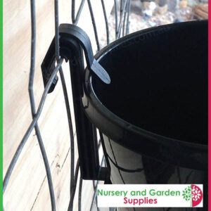 Pot clip hanging orchid plant clip at Nursery and Garden Supplies NZ - for more info go to nurseryandgardensupplies.co.nz