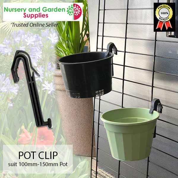 Plant Pot Hanging Clip - for more go to nurseryandgardensupplies.co.nz