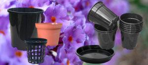 Plastic Plant Pots & Saucers Category - https://nurseryandgardensupplies.co.nz/