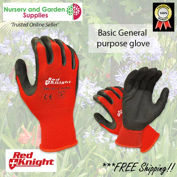 Red Knight Gripmaster Maxisafe Garden Glove at Nursery and Garden Supplies NZ - for more info go to nurseryandgardensupplies.co.nz