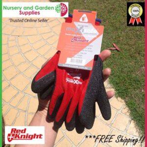Red Knight Gripmaster Maxisafe Garden Glove - for more info go to https://nurseryandgardensupplies.co.nz/product/red-knight-gripmaster-maxisafe-garden-glove/