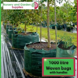 1000 litre woven planter bag tree bag at Nursery and Garden Supplies NZ - for more info go to nurseryandgardensupplies.co.nz