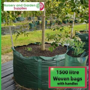1500 litre woven planter bag tree bag at Nursery and Garden Supplies NZ - for more info go to nurseryandgardensupplies.co.nz