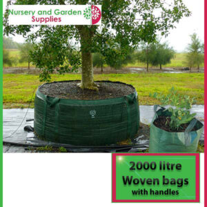 2000 litre woven planter bag tree bag at Nursery and Garden Supplies NZ - for more info go to nurseryandgardensupplies.co.nz