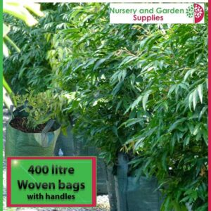 400 litre woven planter bag tree bag at Nursery and Garden Supplies NZ - for more info go to nurseryandgardensupplies.co.nz