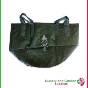 Woven planter bag holes at Nursery and Garden Supplies NZ - for more info go to nurseryandgardensupplies.co.nz