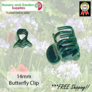 Orchid Butterfly Flower Clip 14mm - for more go to nurseryandgardensupplies.co.nz