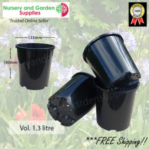 140mm Plastic Plant Pot Standard