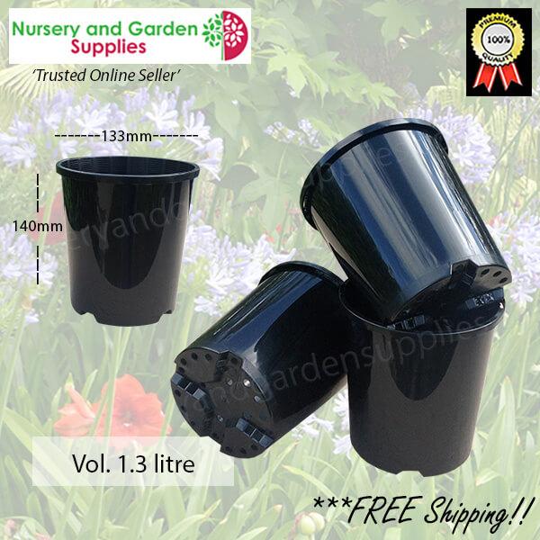 140mm Plastic Plant Pot Standard