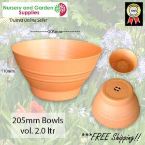 205mm Country Garden Plant Bowl