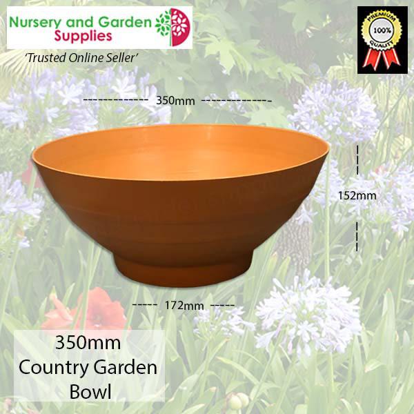 350mm Country Garden Bowl