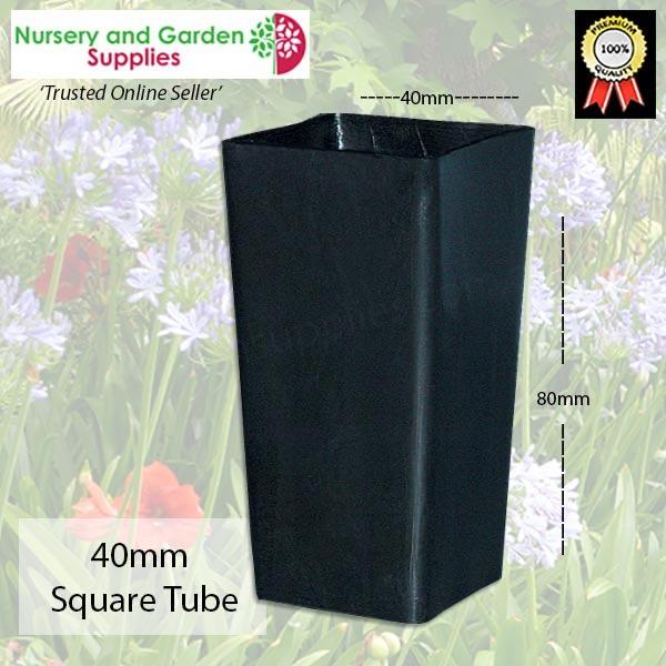 40mm Square Seedling Tube