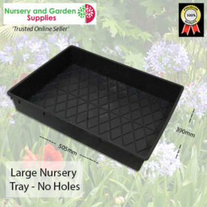 Large Nursery Tray Solid Base