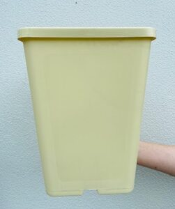 183mm Square Deep Pot Cream